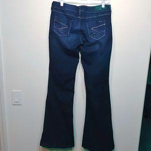 Seven7 Jeans - Seven7 Women's Flare Jeans Dark Wash size 30